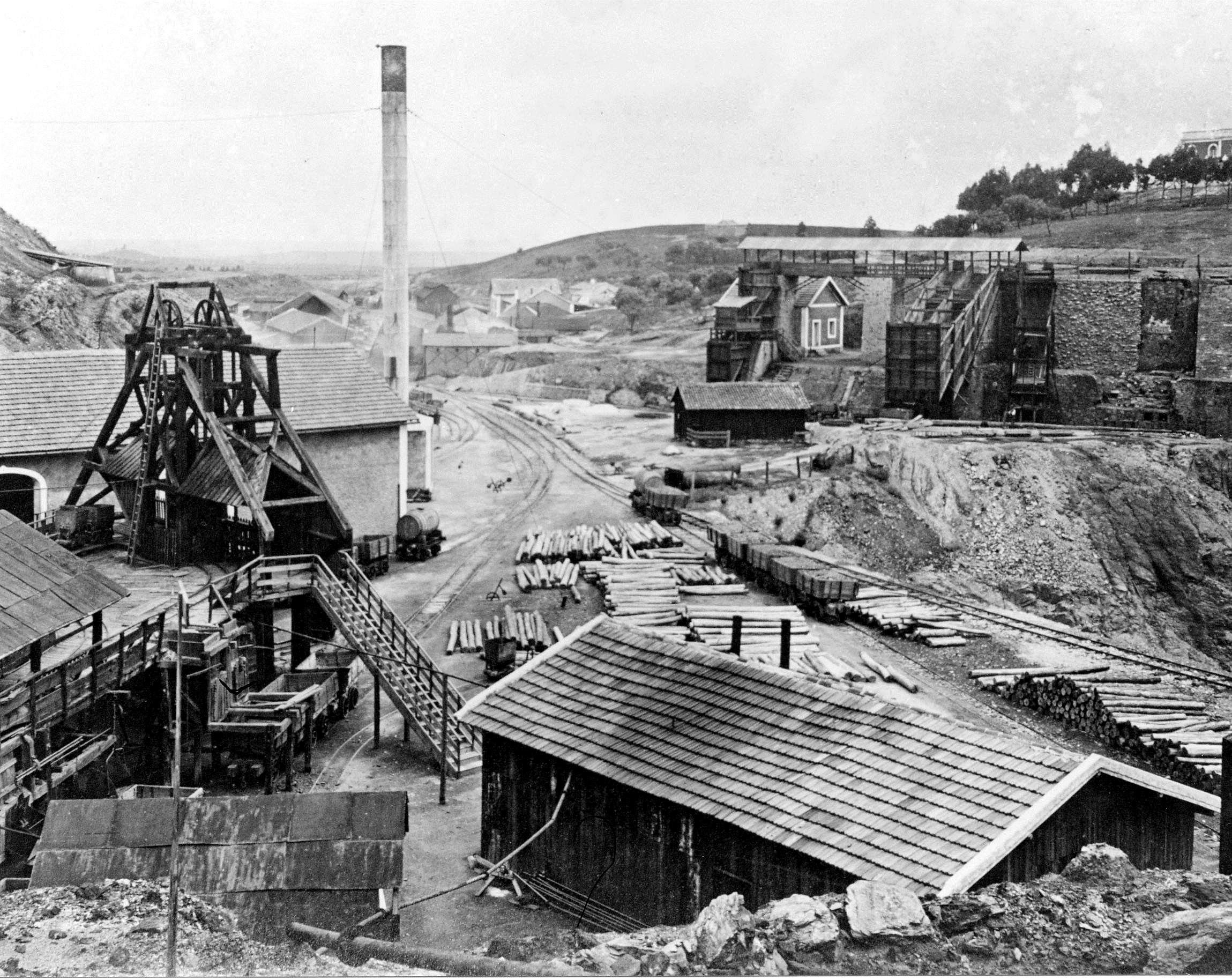 Minas De Aljustrel: História Da Mineração